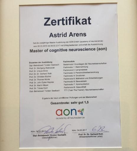 Master-Zertifikat