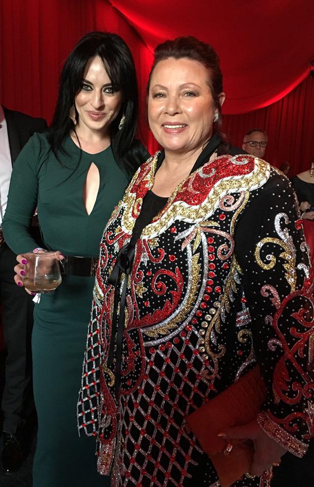 Elton John Oscar Party 2018 Astrid Arens