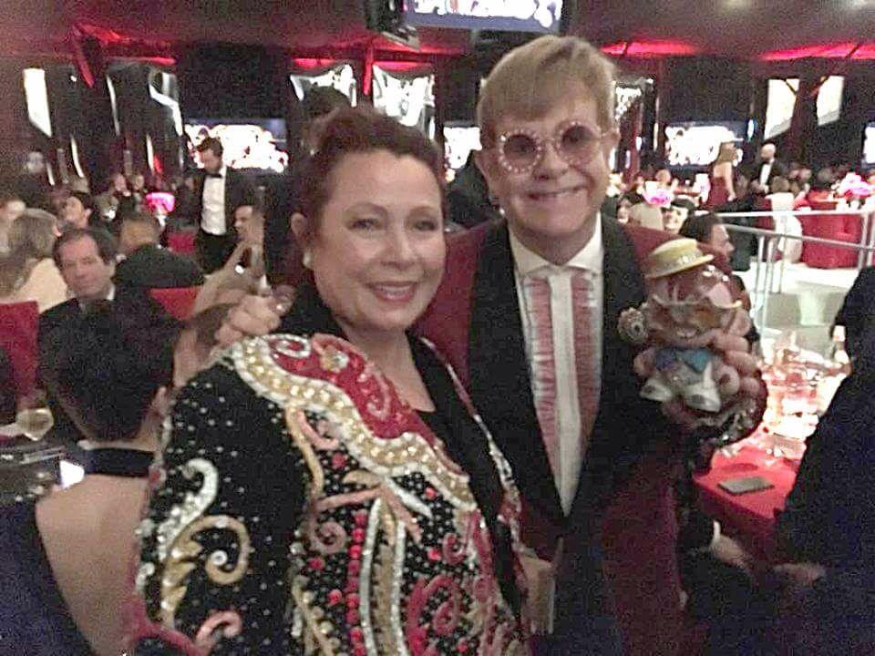 Astrid Arens & Elton John