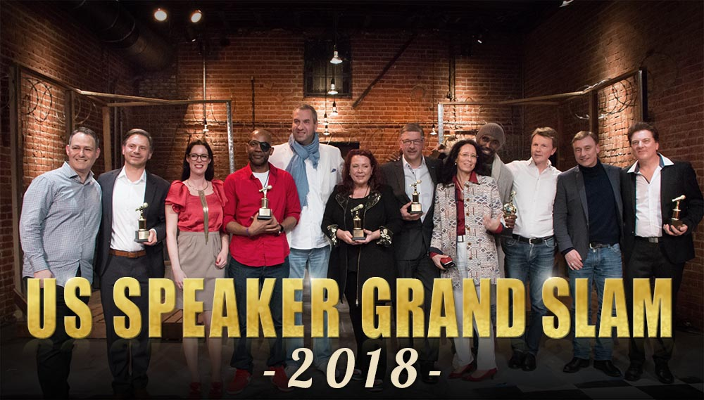 US Grand Speaker Slam 2018