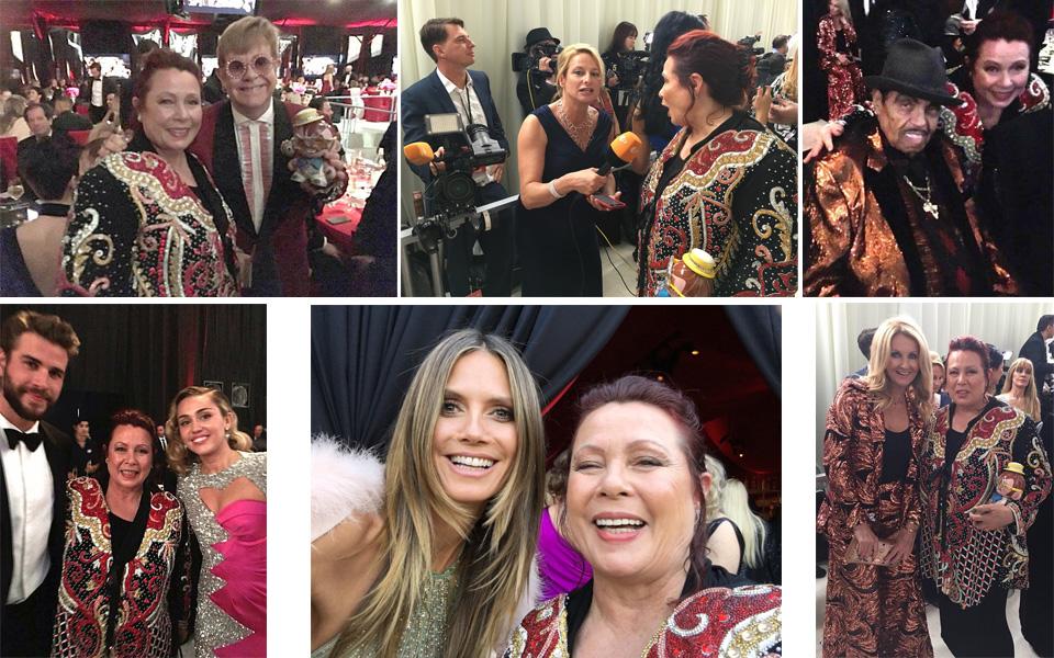 Elton John Oscar Party 2018